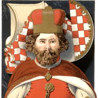 Nagrobek Bolka II Małego w Krzeszowie.