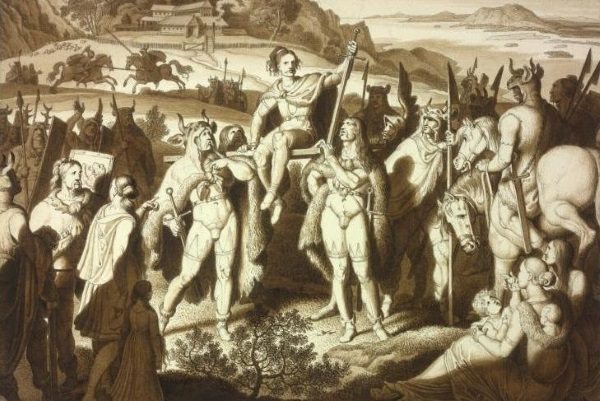 Celtowie w sztuce (fot. domena publiczna)