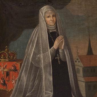 Portret Elżbiety z Pilic Granowskiej.