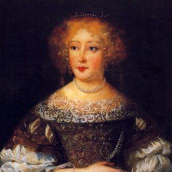 Portret Eleonory Marii Józefy.