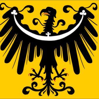 Flaga księstwa oleśnickiego (fot. domena publiczna)