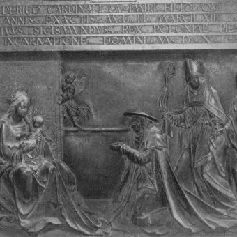 Nagrobek Fryderyka Jagiellończyka w katedrze wawelskiej.