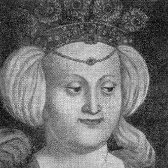 Portret Elżbiety Rakuszanki.
