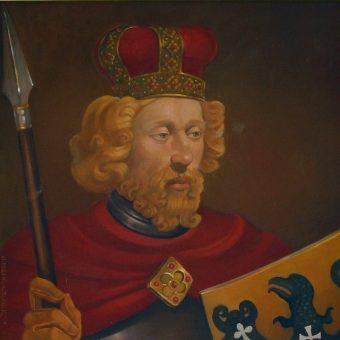 Portret Henryka II Pobożnego.