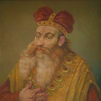 Portret Henryka I Brodatego.