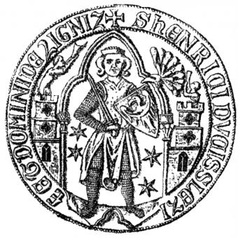 Pieczęć Henryka V Grubego.
