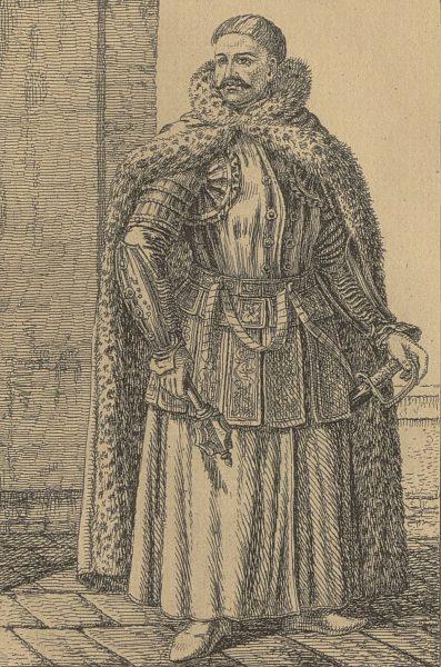 XIX-wieczna podobizna hetmana Jana Sobieskiego.