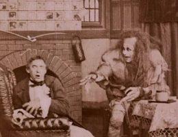 Kadr z pierwszej ekranizacji opowieści o Frankensteinie z 1910 roku (fot. domena publiczna)