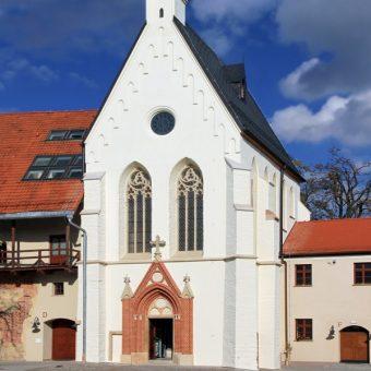 Kaplica zamkowa w Raciborzu fundacji Przemka (fot. Hons084, lic. CC BY-SA 3.0 pl)
