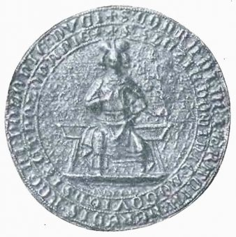Pieczęć Konrada z 1312 (fot. domena publiczna)