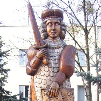 Przemko ściniawski - pomnik w Przemkowie (fot. odder , lic. CC BY-SA 2.5)