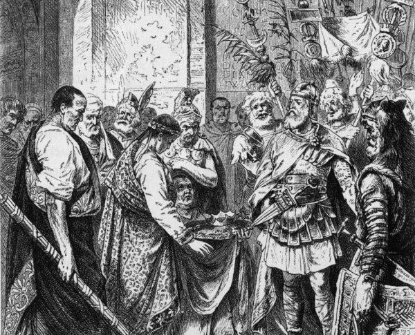 Odoaker zdetronizował Romulusa Augustulusa w 476 roku.