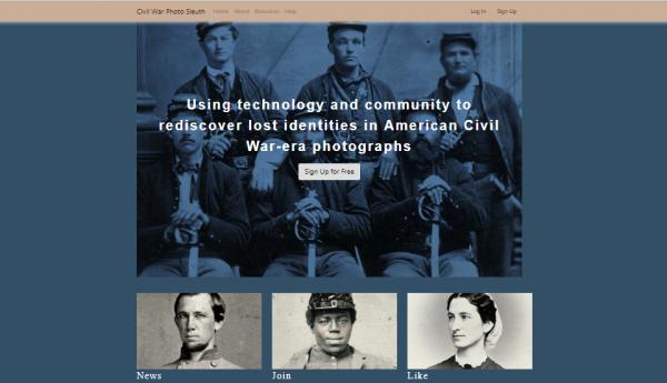 Do projektu można dołączyć za pośrednictwem strony internetowej: www.civilwarphotosleuth.com.
