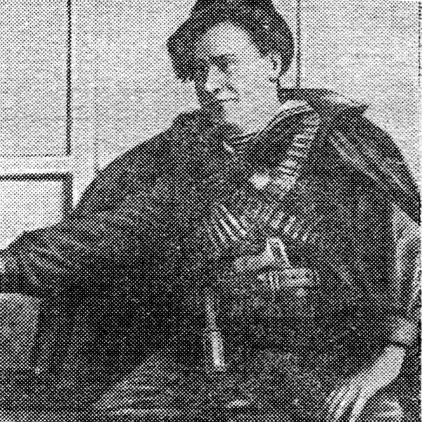 Po szybkim zdławieniu Ukraińców Połupanow ruszył na wschód. Zdjęcie z 1918 roku.
