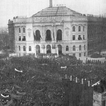Kongres odbywał się w gmachu głównym Politechniki Warszawskiej.