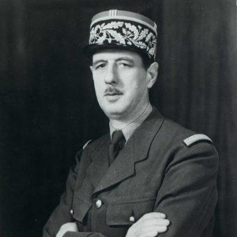 Charles de Gaulle sprawował urząd prezydenta Francji w latach 1959-1969. Zdjęcie z 1942 roku.