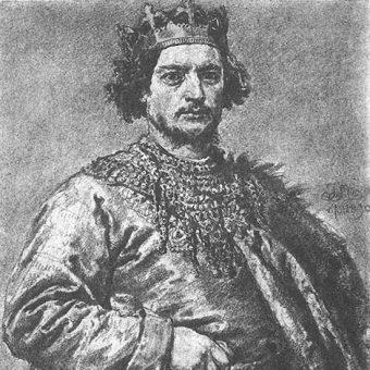 Bolesław II Szczodry został trzecim królem Polski.