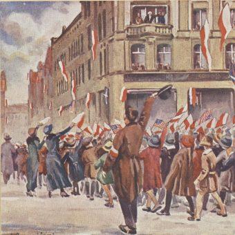 Walki w Poznaniu rozpoczęły się krótko po płomiennym przemówieniu Ignacego Jana Paderewskiego.