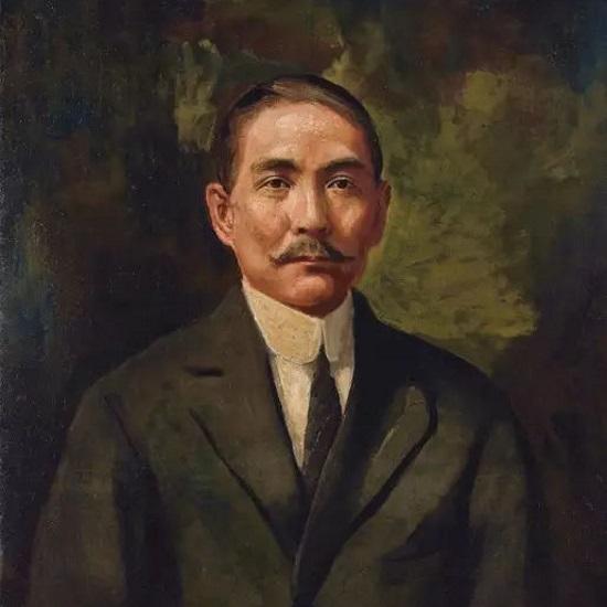 Sun Jat-sen był pierwszym prezydentem Republiki Chińskiej.