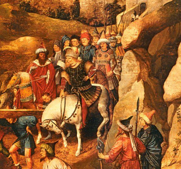 Zawisza wsparł Zygmunta Luksemburskiego w walce z Turkami.