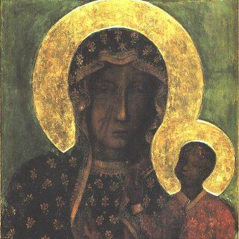 Obraz Matki Boskiej Częstochowskiej jest jednym z najlepiej rozpoznawalnych wizerunków Maryi w Polsce.