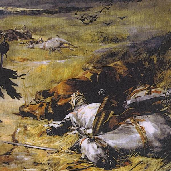 Jan Luksemburski poległ w bitwie pod Crecy. Zanim jednak do tego doszło stanowił nieustanne zagrożenie dla władzy Łokietka w Krakowie (fot. domena publiczna)