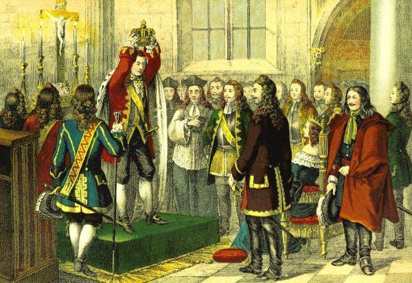 Jednym z budowniczych pruskiego państwa był Fryderyk I, który koronował się w 1701 roku.