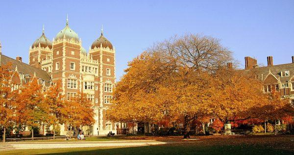 Utworzony w połowie XVIII wieku Uniwersytet Pensylwanii (na zdj. kampus) bogacił się dzięki pracy niewolników.