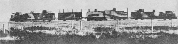 Pociąg pancerny Połupanowa skończył w nurcie Wołgi.