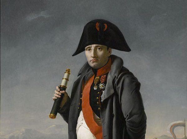 Czy zlekceważenie znaczenia wsparcia polskiego na Ukrainie doprowadziło do przegrania całej wojny? Na obrazie Napoleon w przededniu uderzenia na Moskwę.