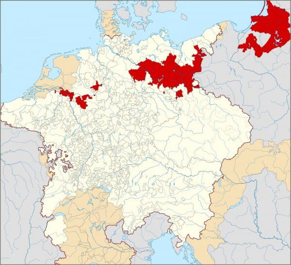 Połączenie Brandenburgii i Prus Książęcych osobą wspólnego władcy było pierwszym krokiem w stronę budowania pruskiej potęgi.