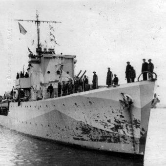 """Początkowo nic nie zapowiadało, że polska flota szybko stanie się znaczącą siłą. ORP """"Slązak - zdjęcie poglądowe."""