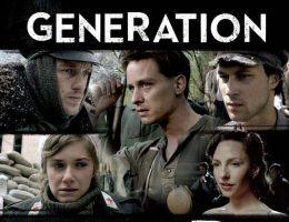 """Serial spotkał się z krytyką nie tylko w Polsce, ale również m.in. w Wielkiej Brytanii i USA (ilustracja: fragment plakatu promocyjnego serialu pod jego angielskim tytułem """"Generation War"""")."""