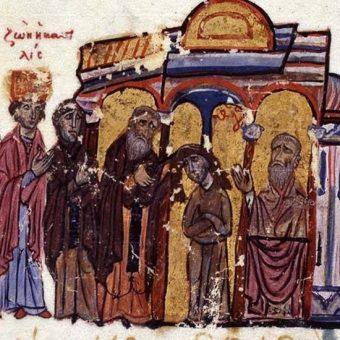 Cesarzowa Teodora wiele lat spędziła w klasztorze.