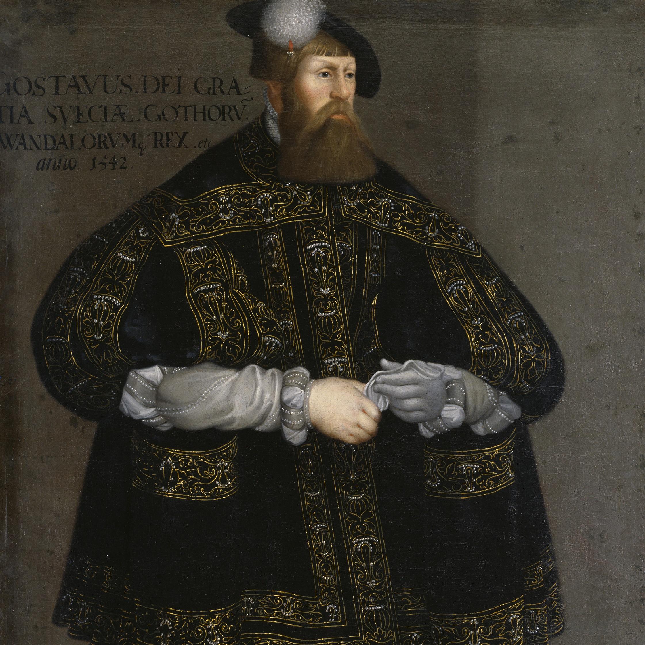 Gustaw I Waza rządził w Szwecji do 1560 roku