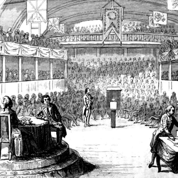 Ludwik XVI był sądzony przez Konwent Narodowy.