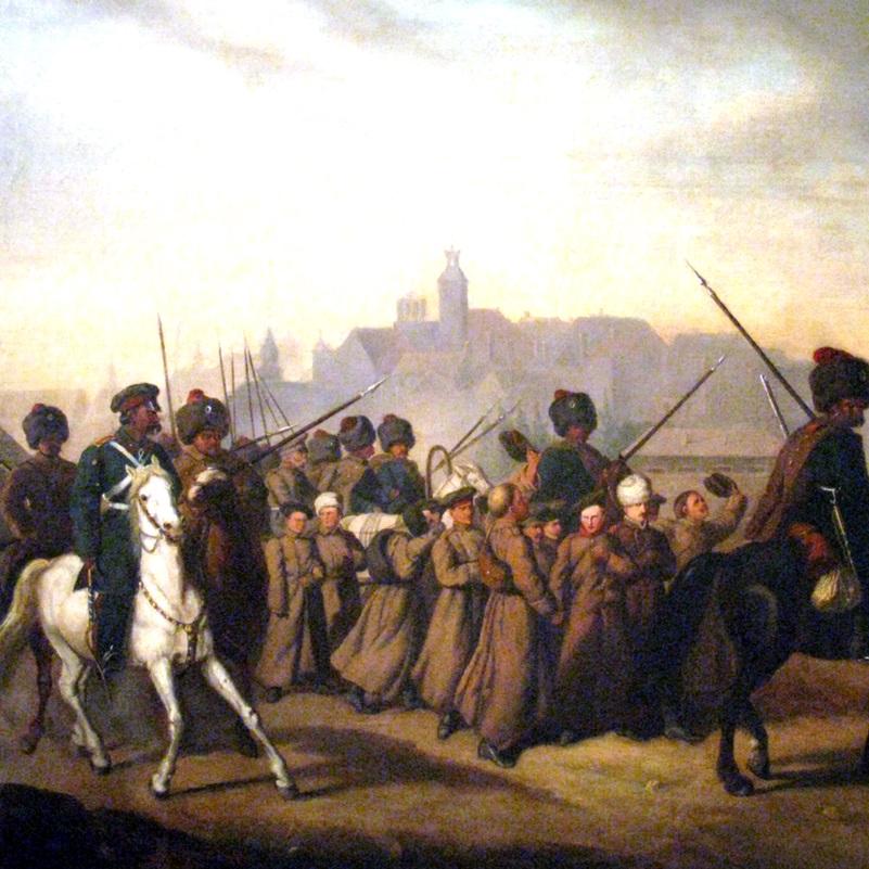 Bezpośrednią przyczyną wybuchu powstania był pobór do wojska, zarządzony przez Aleksandra Wielopolskiego.