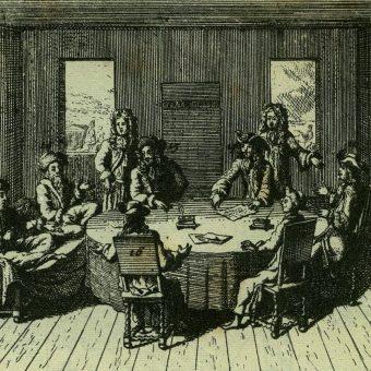 Pokój podpisali przedstawiciele Ligi Świętej i Imperium Tureckiego.