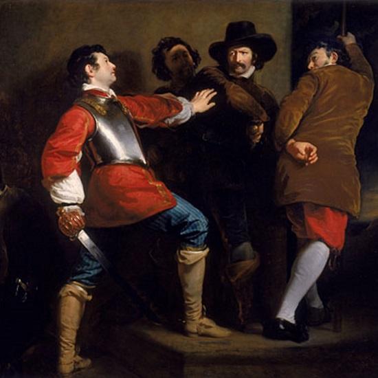 Spisek został odkryty w nocy z 4 na 5 listopada 1605 roku.