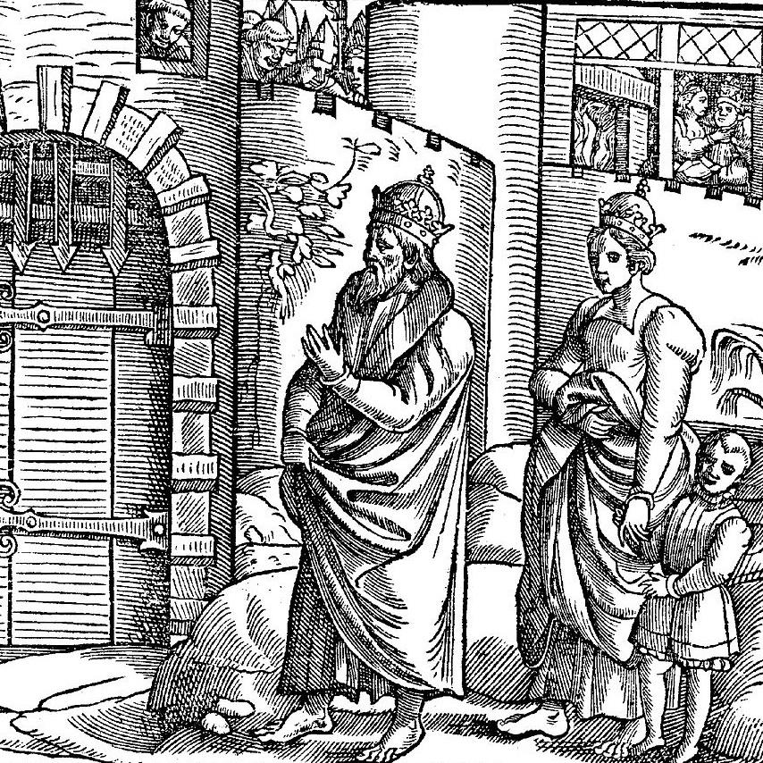 Henryk, jego żona i syn czekali trzy dni na dopuszczenie przed oblicze papieża.