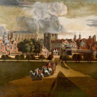 Pałac Whitehall był od 1530 roku siedzibą angielskich królów.