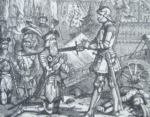 Noc poprzedzającą pasowanie przyszły rycerz spędzał zwykle na modlitwie.