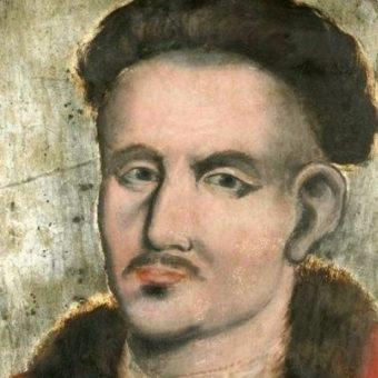 """Zmarli """"towarzyszyli"""" uroczystościom także dzięki portretom trumiennym."""