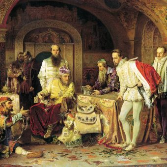 Ceremonia przekazywania podarków od posłów podlegała na dworze moskiewskim sztywnym regułom.