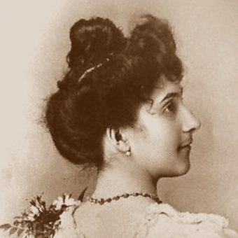 Jeanne Calment w wieku 20 lat (fot. domena publiczna)