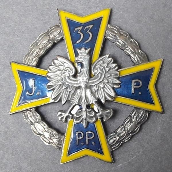 """Na odcinku """"Nowogród"""" walczył 33 pułk piechoty."""