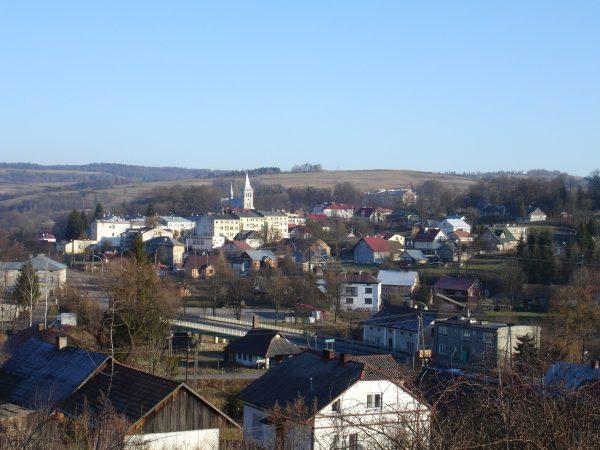 Panorama Birczy z 2006 roku (fot. p'alkin, lic. CC BY-SA 3.0)