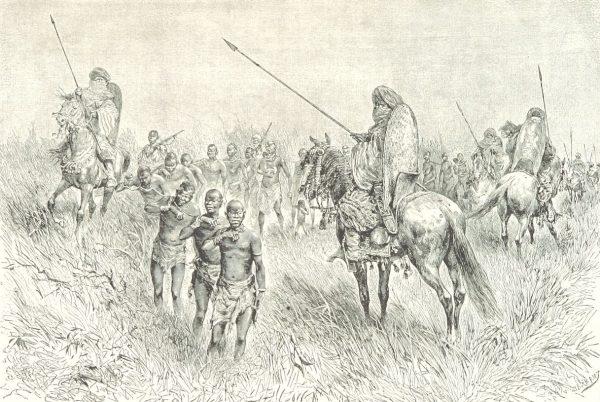 Schwytani do niewoli mieszkańcy Afryki byli wywożeni do Europy lub Ameryki.