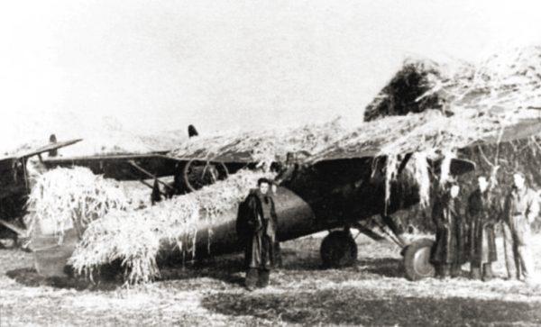 Na wyposażeniu Wojska Polskiego znalazły się między innymi leciwe górnopłaty PZL P.11.
