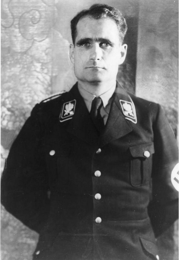 Rudolf Hess (fot. Bundesarchiv, Bild 183-1987-0313-507, lic. CC-BY-SA 3.0)